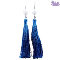 Cercei Fringe Blue