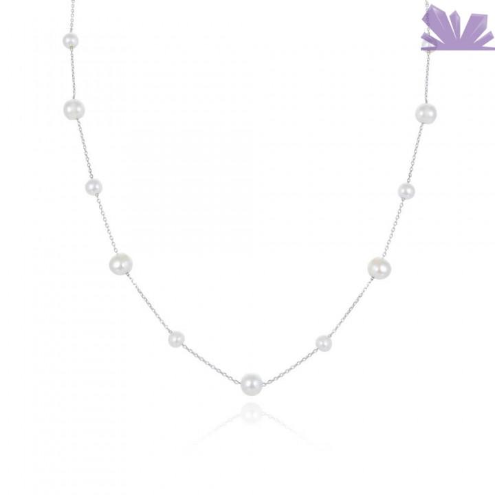 Colier argint Ocean Treasure 41 cm