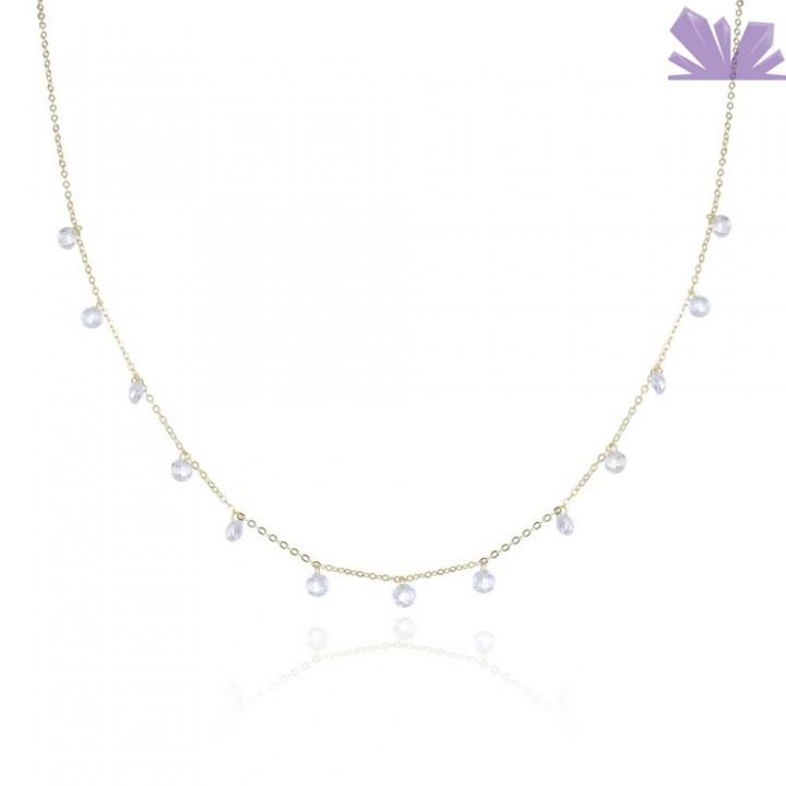Lantisor argint Precious Charms 42 cm