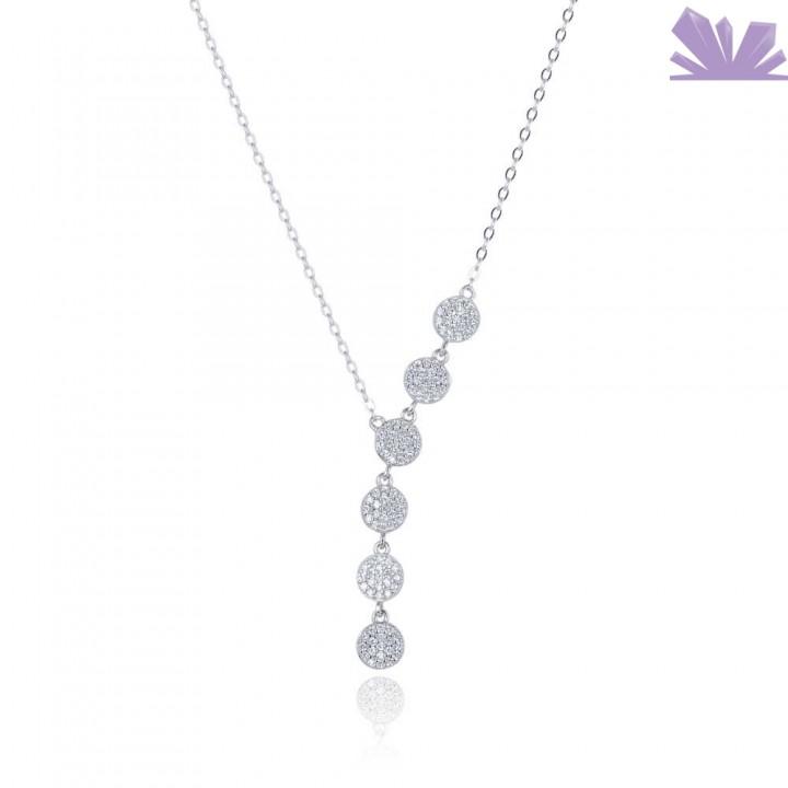 Lantisor argint Shards of Sparkle 45 cm