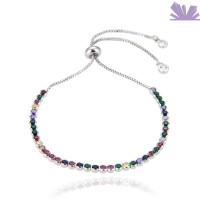 Bratara Colorful Round Sparkle