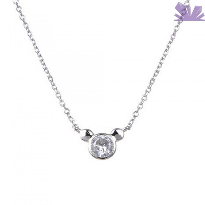 Lantisor argint 925 Mickey Mouse 43 cm