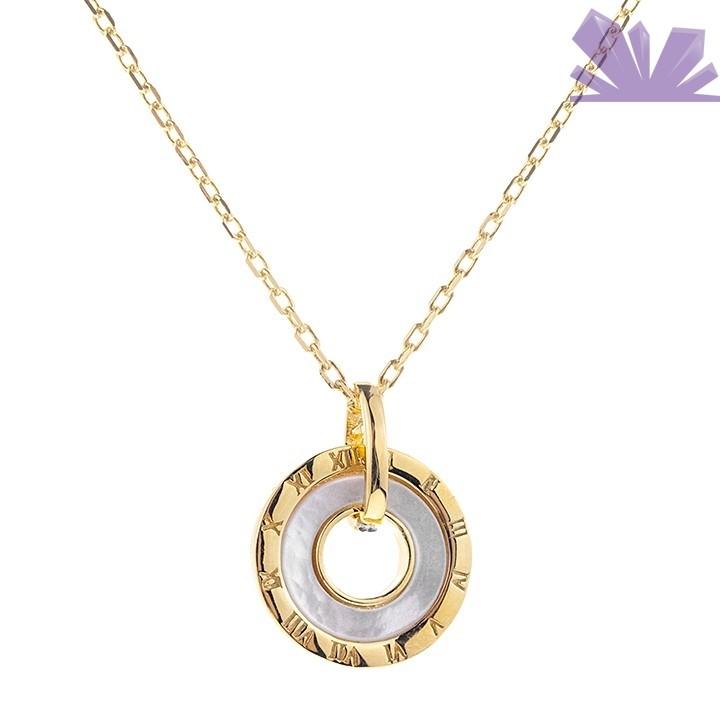 Lantisor argint 925 Elegance of Time 43.5 cm