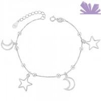 Bratara argint 925 Lovely Sky 20 cm