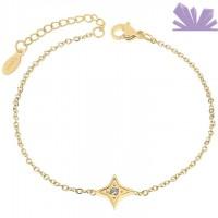 Bratara Inox Golden Star 20 cm