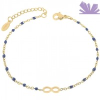 Bratara Inox Infinity of Blue 20,5 cm